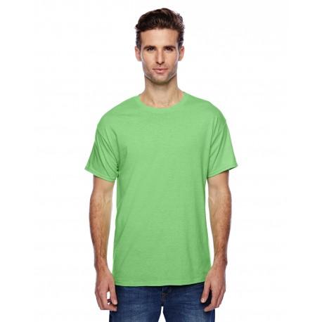 P4200 Hanes P4200 Unisex 4.5 oz. X-Temp Performance T-Shirt NEON LIME HTHR