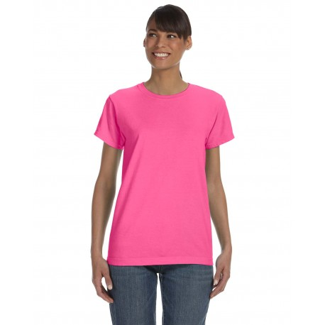 C3333 Comfort Colors C3333 Ladies' Midweight RS T-Shirt NEON PINK
