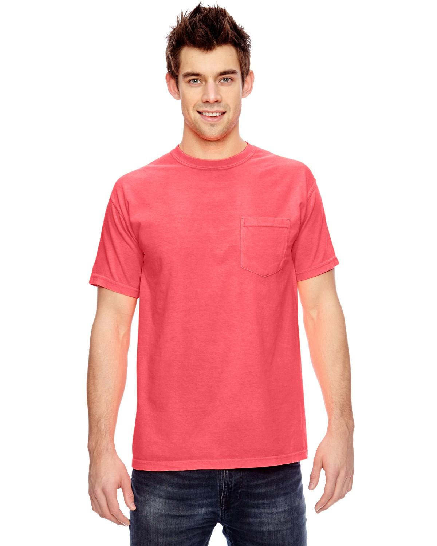 6030CC Comfort Colors NEON RED ORANGE