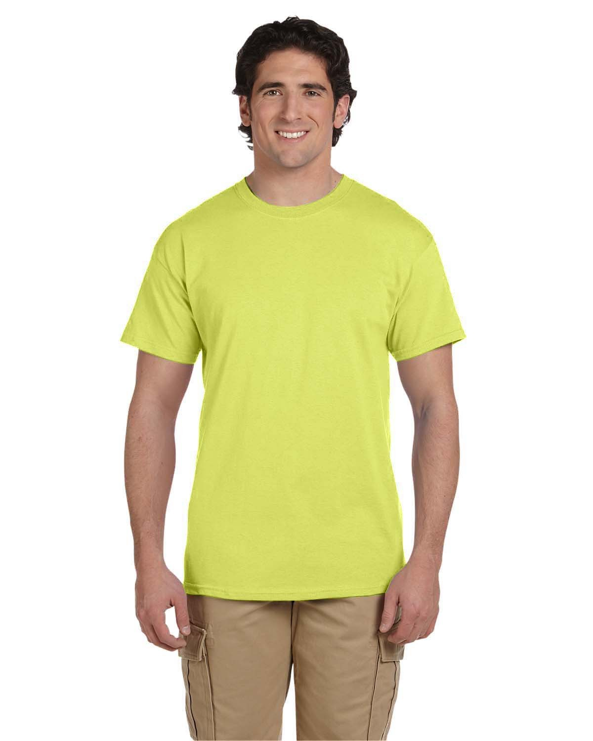 3931 Fruit of the Loom NEON YELLOW