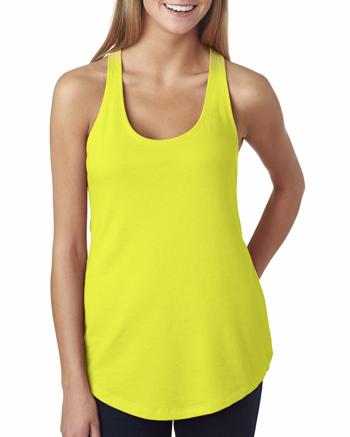 6933 Next Level NEON YELLOW