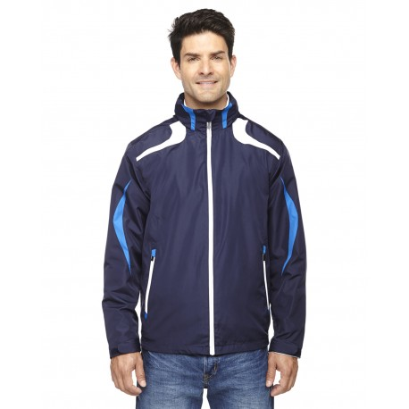 88644 North End 88644 Men's Impact Active Lite Colorblock Jacket NIGHT 846