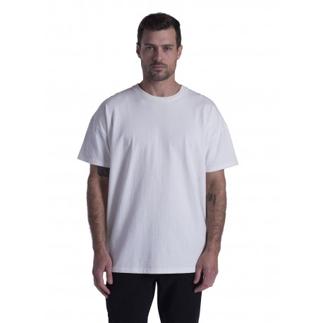 US3210 US Blanks US3210 Men's Vintage Fit Heavyweight Cotton T-Shirt OFF WHITE