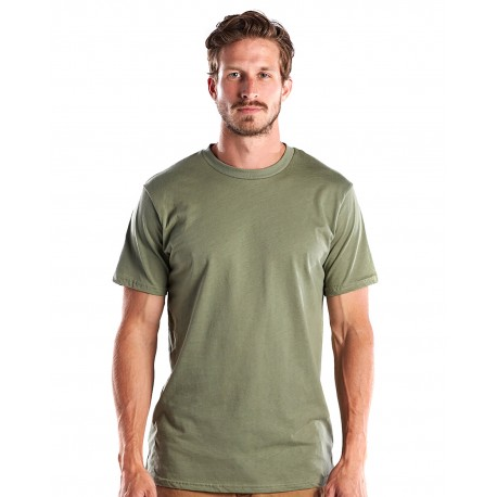US2000 US Blanks US2000 Men's Made in USA Short Sleeve Crew T-Shirt OLIVE