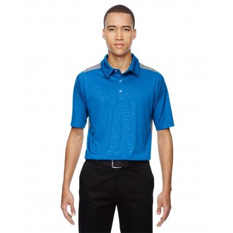 88691 North End 88691 Men's Reflex UTK cool?logik Performance Embossed Print Polo OLYMPIC BLUE 447