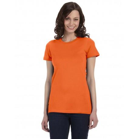 6004 Bella + Canvas 6004 Ladies' The Favorite T-Shirt ORANGE