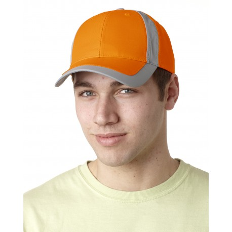 RF102 Adams RF102 Reflector High-Visibility Constructed Cap ORANGE