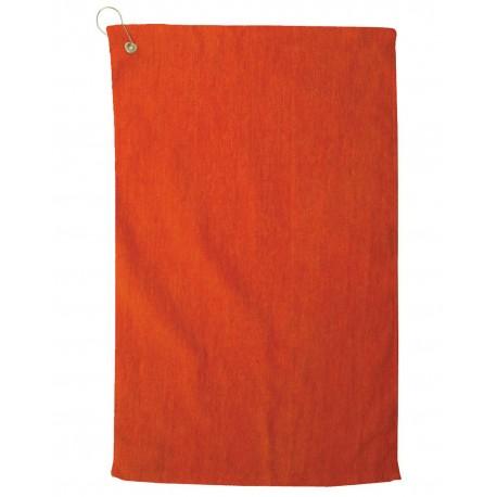 TRU35CG Pro Towels TRU35CG Platinum Collection Golf Towel ORANGE