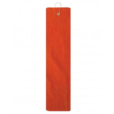 TRU35TF Pro Towels TRU35TF Platinum Collection Golf Towel ORANGE