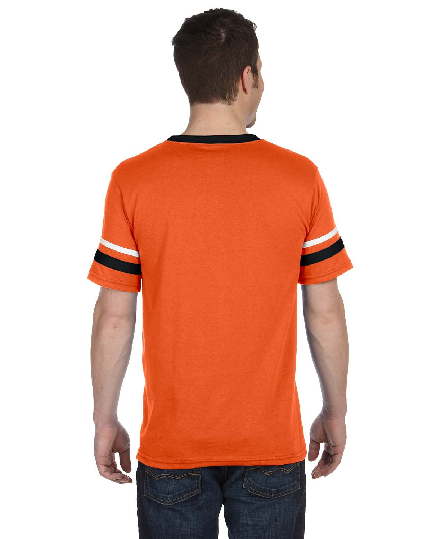 360 Augusta Sportswear ORANGE/BLK/WHT