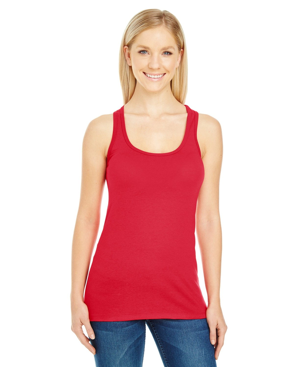 220RT Threadfast Apparel ACTIVE RED