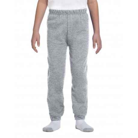 973B Jerzees 973B Youth 8 oz. NuBlend Fleece Sweatpants OXFORD