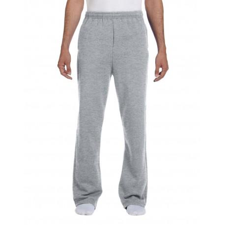 974MP Jerzees 974MP Adult 8 oz. NuBlend Open-Bottom Fleece Sweatpants OXFORD