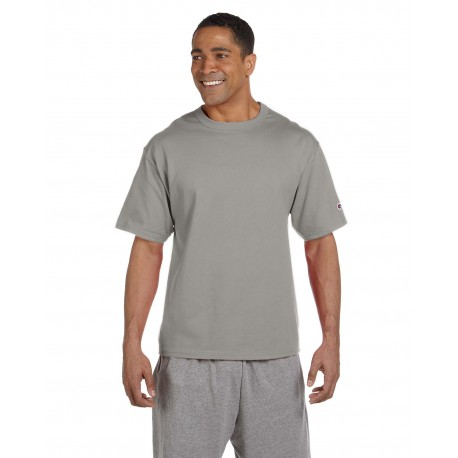 T2102 Champion T2102 Adult 7 oz. Heritage Jersey T-Shirt OXFORD GRAY