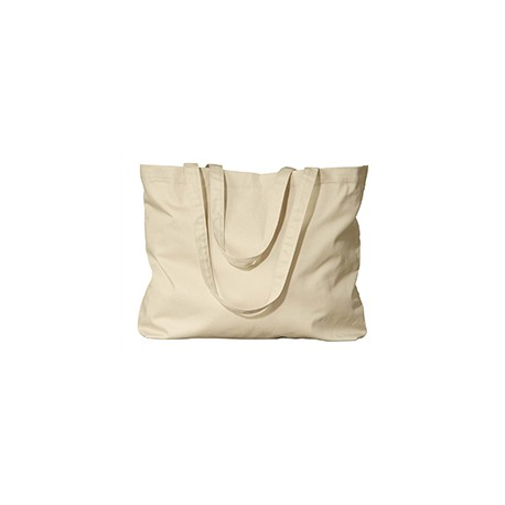 EC8001 Econscious EC8001 Organic Cotton Large Twill Tote OYSTER