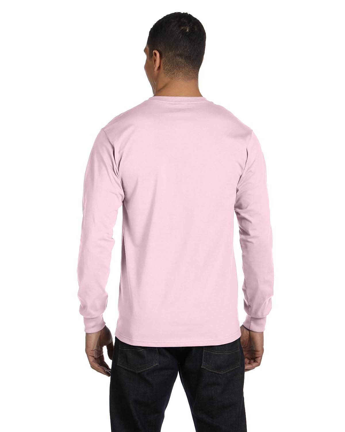 5186 Hanes PALE PINK