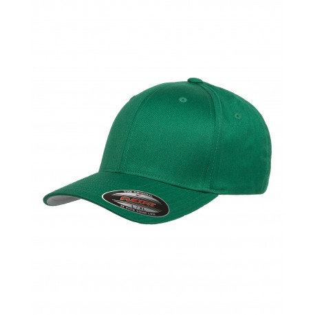 6277 Flexfit 6277 Adult Wooly 6-Panel Cap PEPPER GREEN