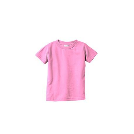 3322 Rabbit Skins 3322 Infant Fine Jersey T-Shirt PINK