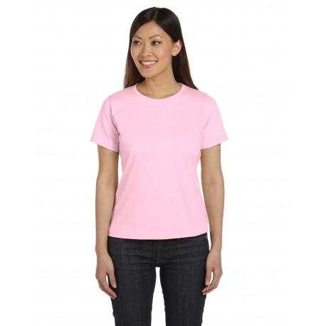 3580 LAT 3580 Ladies' Premium Jersey T-Shirt PINK