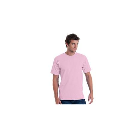 BA5040 Bayside BA5040 Adult Short-Sleeve T-Shirt PINK