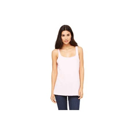 6488 Bella + Canvas 6488 Ladies' Relaxed Jersey Tank PINK