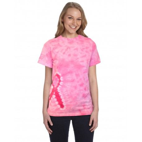CD1150 Tie-Dye CD1150 Pink Ribbon T-Shirt PINK RIBBON