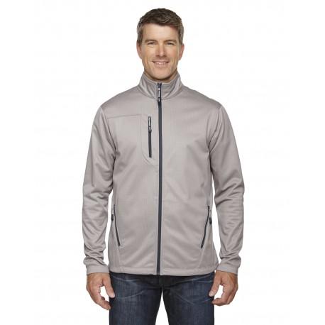 88213 North End 88213 Men's Trace Printed Fleece Jacket PLATINUM 837