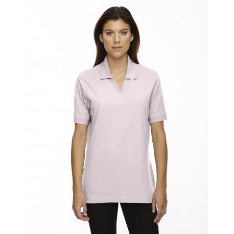 75009 Extreme 75009 Ladies' Cotton Jersey Polo POWDER PINK 803