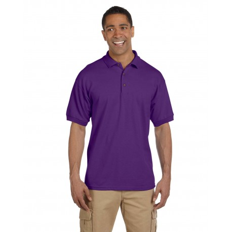 G380 Gildan G380 Adult Ultra Cotton Adult 6.3 oz. Pique Polo PURPLE