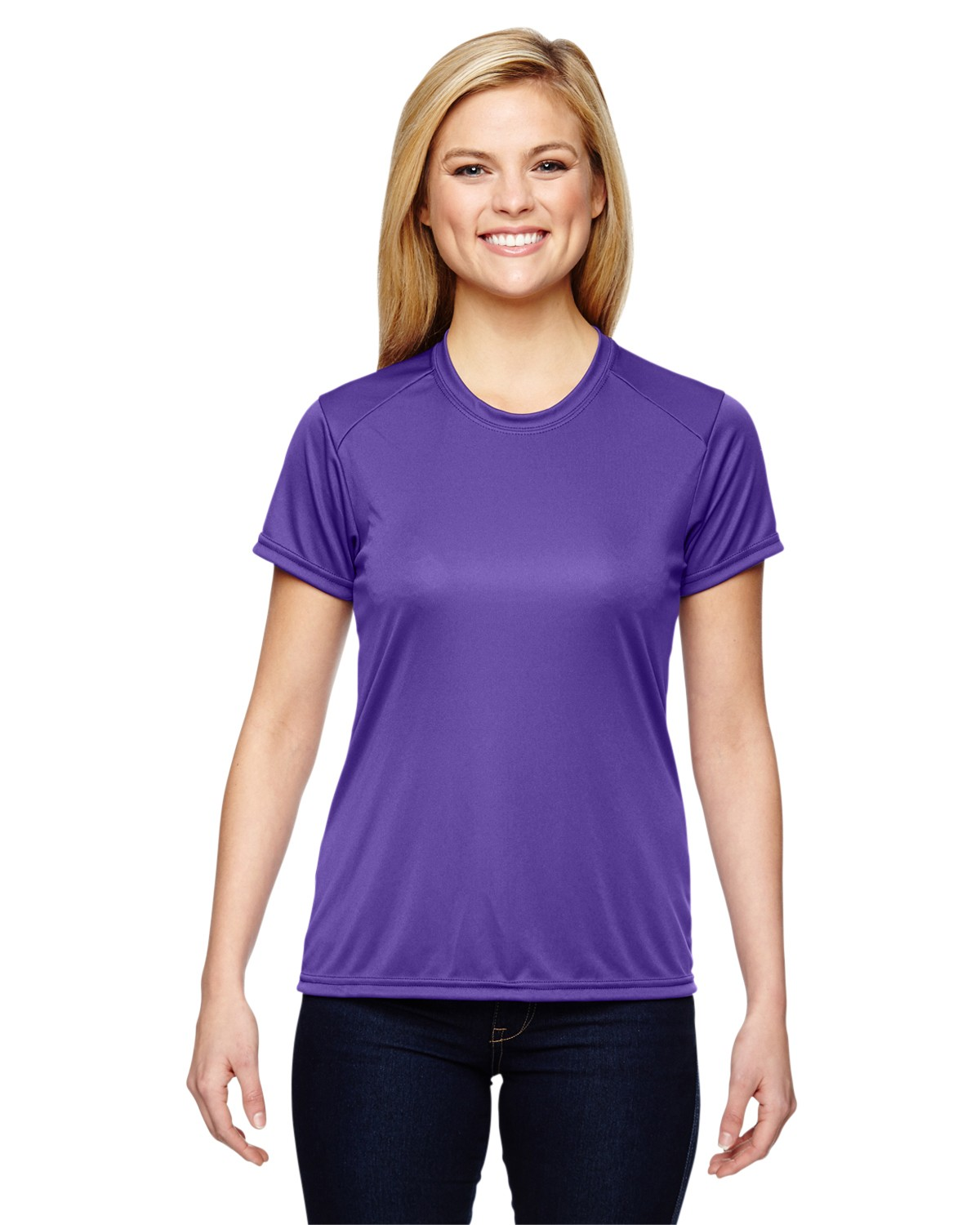 NW3201 A4 Apparel PURPLE