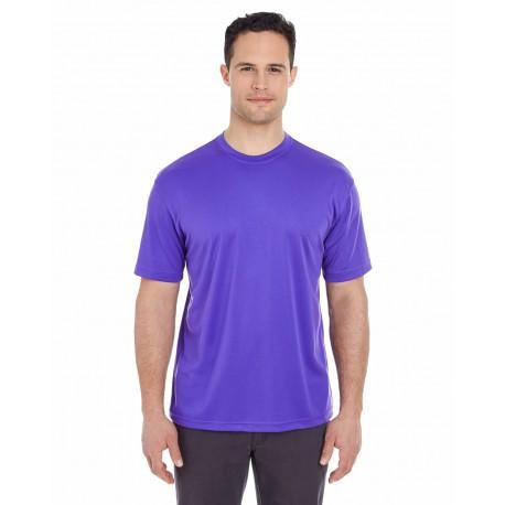 8400 UltraClub 8400 Men's Cool & Dry Sport T-Shirt PURPLE