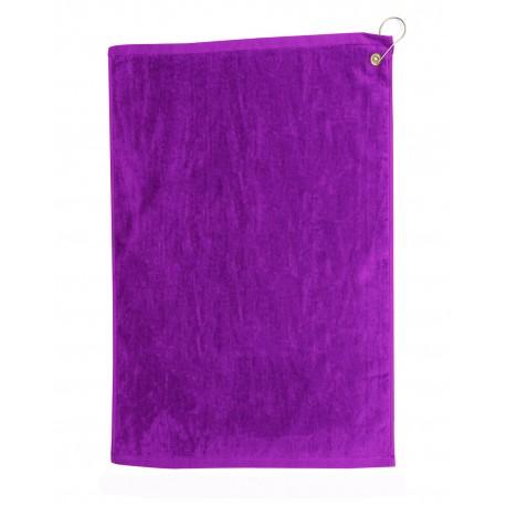 TRU25CG Pro Towels TRU25CG Diamond Collection Golf Towel PURPLE