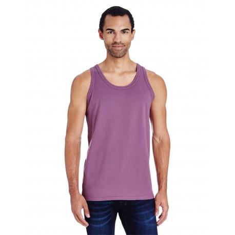 GDH300 ComfortWash by Hanes GDH300 Unisex 5.5 oz., 100% Ringspun Cotton Garment-Dyed Tank PURPLE PLM RAISN