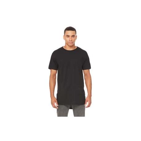 3006 Bella + Canvas 3006 Men's Long Body Urban T-Shirt BLACK