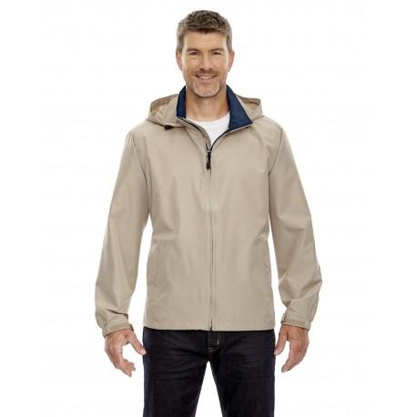 88083 North End 88083 Men's Techno Lite Jacket PUTTY 734