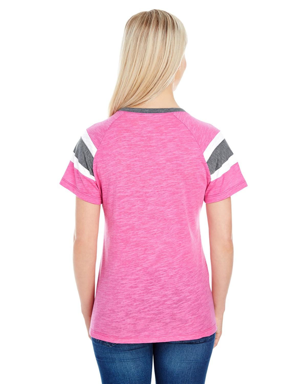 3011 Augusta Sportswear PW PNK/SLT/WHT
