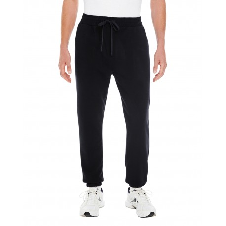 BU8800 Burnside BU8800 Adult Fleece Joggers BLACK