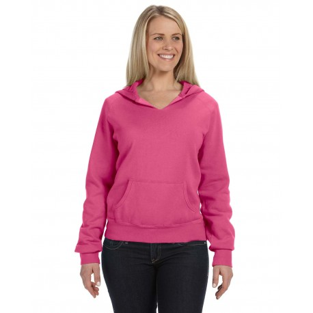 C1595 Comfort Colors C1595 Ladies' Hooded Sweatshirt RASPBERRY