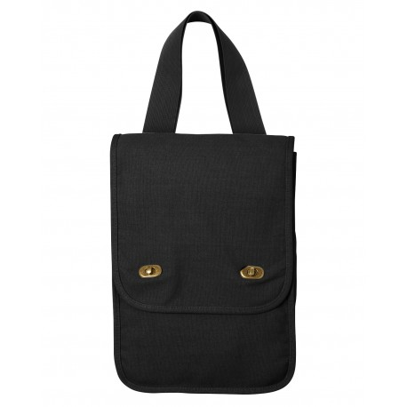343 Comfort Colors 343 Canvas Field Bag BLACK
