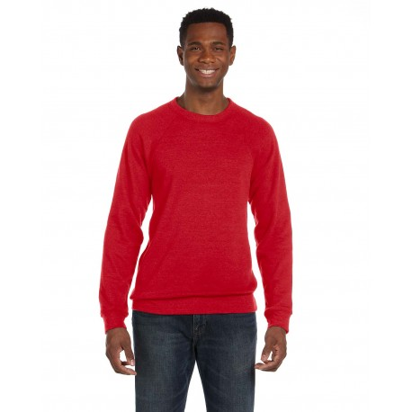 3901 Bella + Canvas 3901 Unisex Sponge Fleece Crewneck Sweatshirt RED
