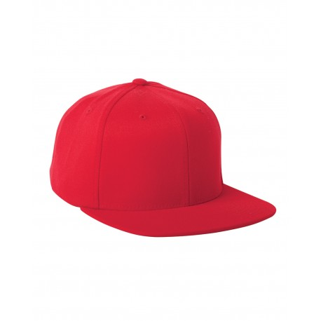 110F Flexfit 110F Adult Wool Blend Snapback Cap RED