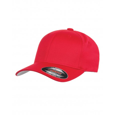 6277Y Flexfit 6277Y Youth Wooly 6-Panel Cap RED