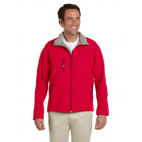 D995 Devon & Jones D995 Men's Soft Shell Jacket RED