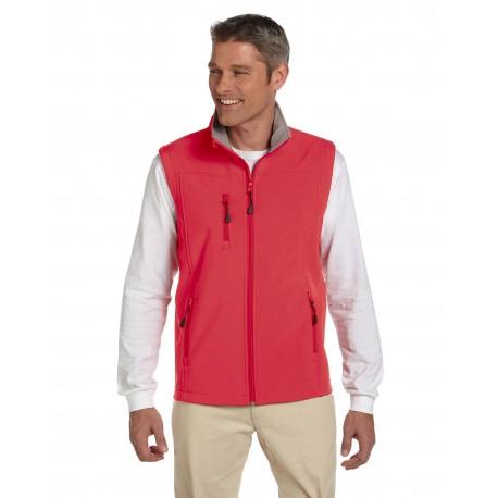 D996 Devon & Jones D996 Men's Soft Shell Vest RED