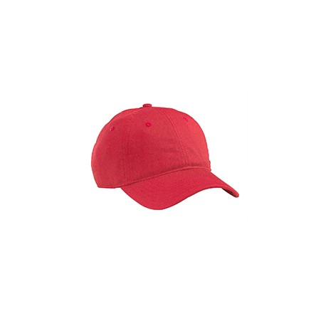 EC7000 Econscious EC7000 Organic Cotton Twill Unstructured Baseball Hat RED