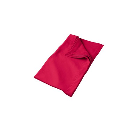 G129 Gildan G129 DryBlend 9 oz. Fleece Stadium Blanket RED
