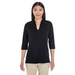 Devon & Jones DP188W Ladies' Perfect Fit Tailored Open Neckline Top