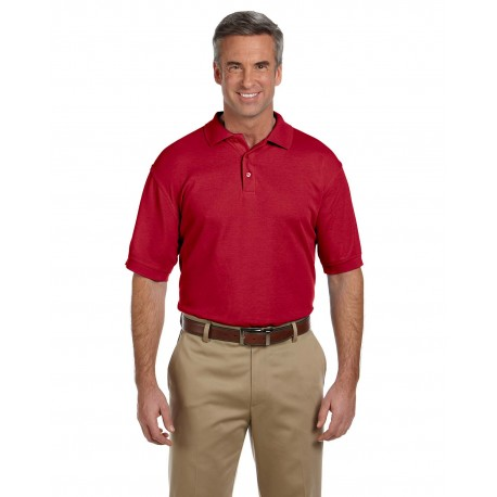 M280 Harriton M280 Men's 5 oz. Blend-Tek Polo RED