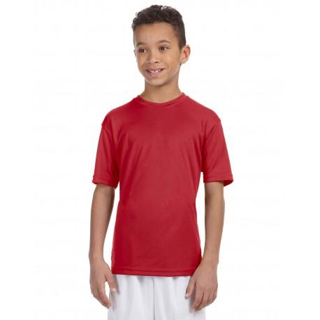 M320Y Harriton M320Y Youth 4.2 oz. Athletic Sport T-Shirt RED