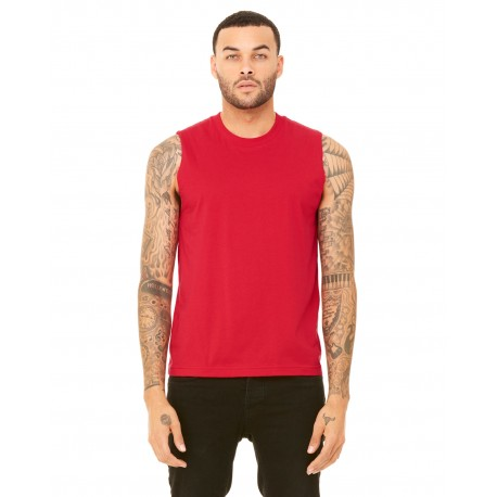 3483 Bella + Canvas 3483 Unisex Jersey Muscle Tank RED